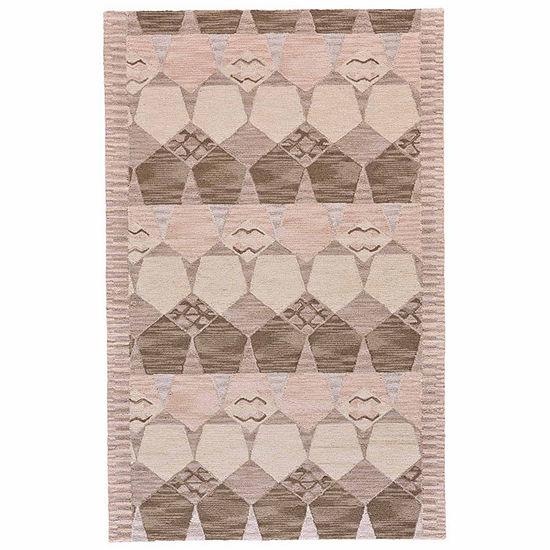 Weave And Wander Jasmine Hand Tufted Rectangular Indoor Rugs