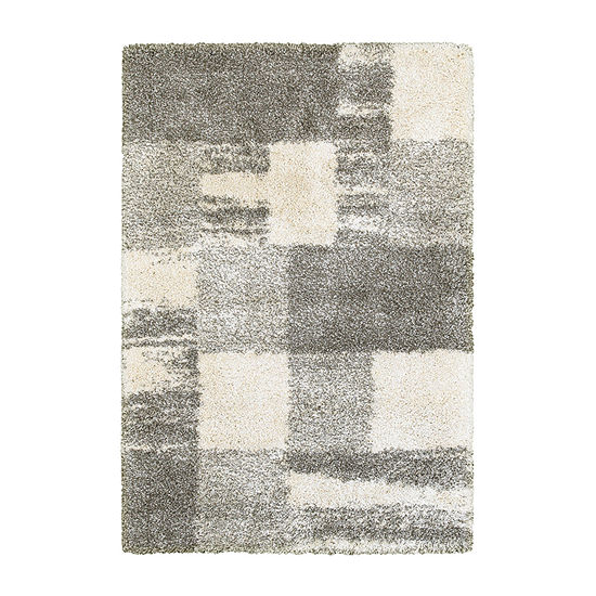 Covington Home Heath Blocks Rectangular Indoor Rugs