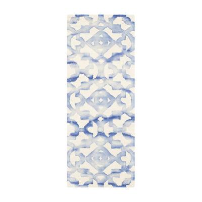 Safavieh Dip Dye Collection Joakim Geometric Runner Rug