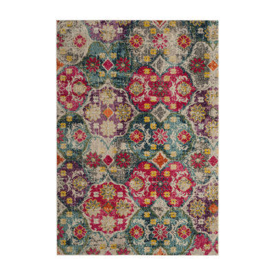 Safavieh Monaco Collection Renee Geometric Runner Rug