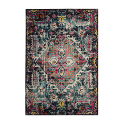 Safavieh Monaco Collection Sashka Oriental Round Area Rug