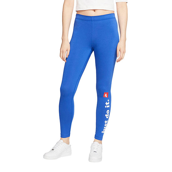 Nike Mid Rise Full Length Leggings
