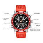 Citizen Promaster Sailhawk Mens Chronograph Orange Strap Watch-Jr4061-00f