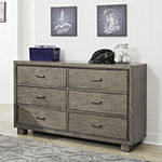 Signature Design by Ashley Ardin Collection 6-Drawer Dresser