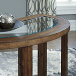 Signature Design by Ashley Hannery Collection Console Table