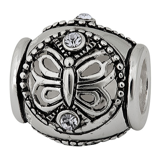 Forever Moments Butterfly Crystal Spacer Bead