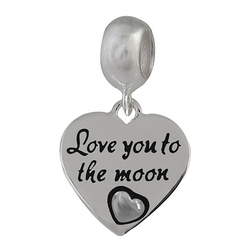 Forever Moments™ Heart-Shaped Love You to the Moon Bead