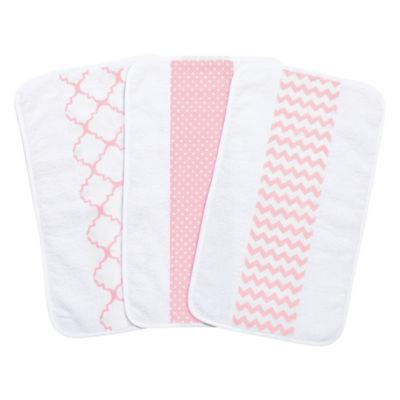 Trend Lab 3-Pk Jumbo Burp Cloth Set