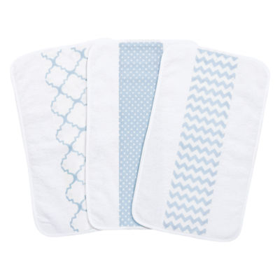 Trend Lab 3-Pk Jumbo Burp Cloth Set