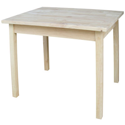 Juvenile Table Kids Table + Chairs-Natural