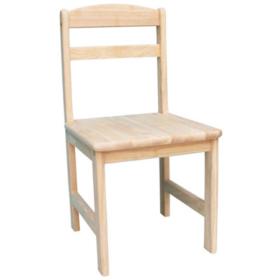 Juvenile Kids Chair-Natural