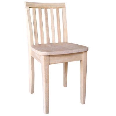 Juvenile Kids Chair-Natural