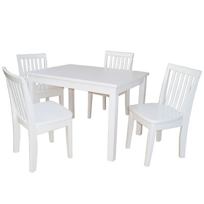 5-Pc. Juvenile Table Set 5-pc. Kids Table + Chairs-Painted