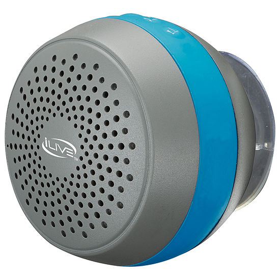 iLive ISBW105BU Water-Resistant Shower Speaker - Blue