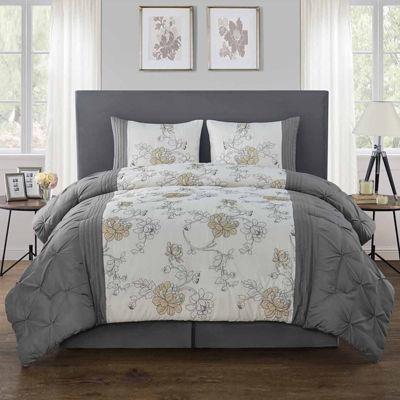 VCNY Alexis 4-pc. Floral Comforter Set