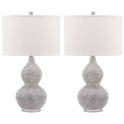 Safavieh Nicole Bead Base Lamp
