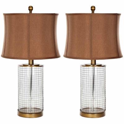 Safavieh Aerie Glass Table Lamp