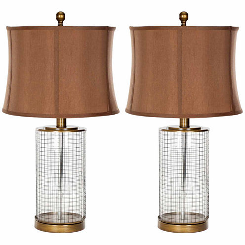 Safavieh Aerie Glass Table Lamp