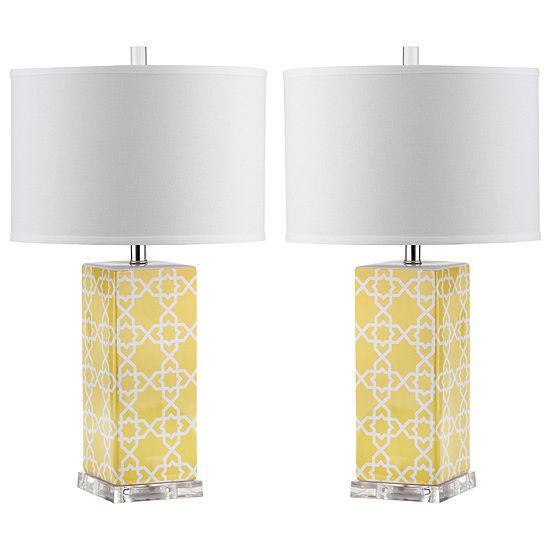 Safavieh Quatrefoil Table Lamp