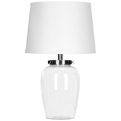 Safavieh Evan Fillable Glass Clear Table Lamp