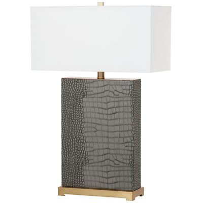 Safavieh Joyce Faux Alligator Table Lamp