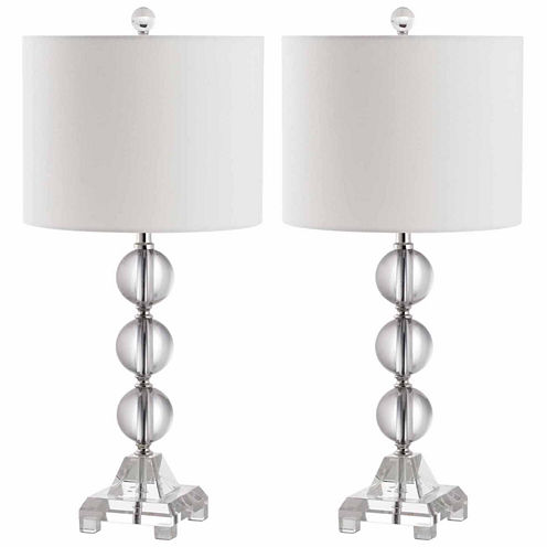 Safavieh Fiona Crystal Table Lamp