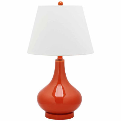 Safavieh Amy Gourd Glass Lamp