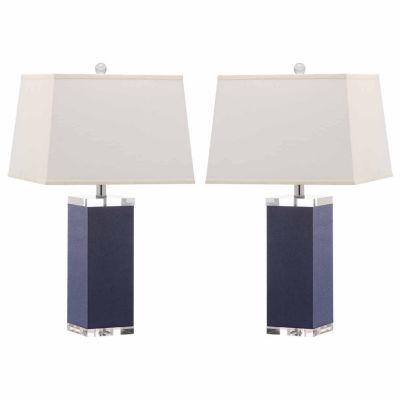 Safavieh Deco Leather Table Lamp