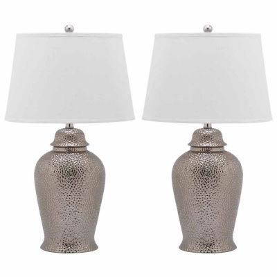 Safavieh Sterling Ginger Jar Lamp