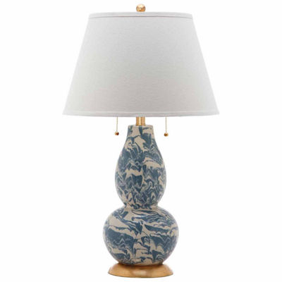 Safavieh Color Swirls Glass Table Lamp