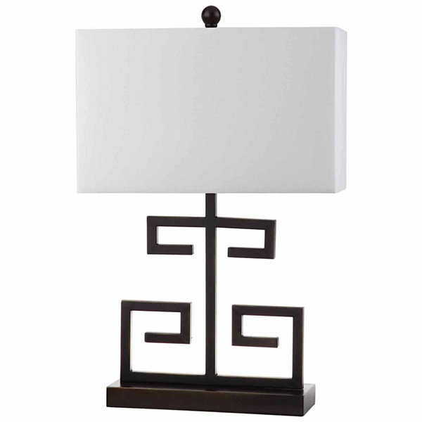 Safavieh Greek Key Table Lamp