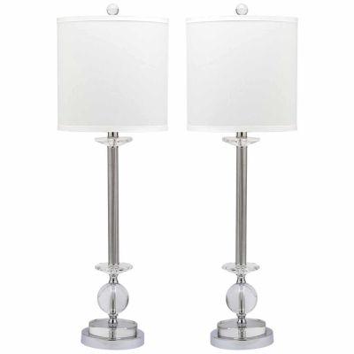 Safavieh Marla Crystal Candlestick Lamp