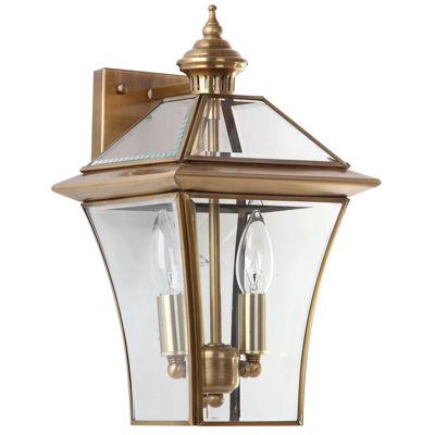 Safavieh Virginia Brass Double Light Sconce