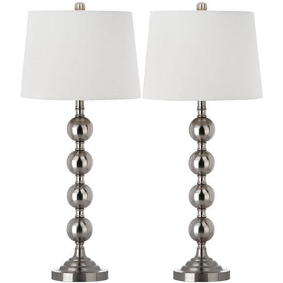 Safavieh Stacked Gazing Ball Table Lamp