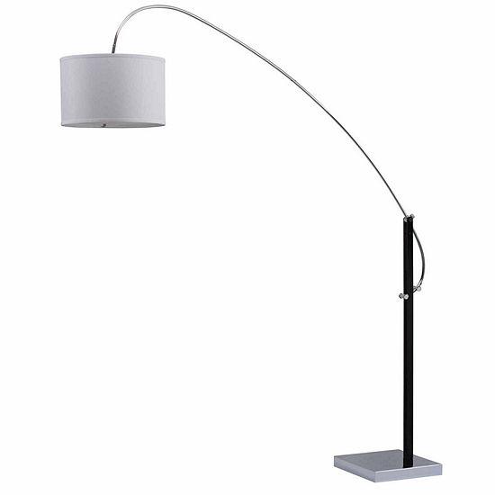 Safavieh Lyra Adjustable Arc Floor Lamp