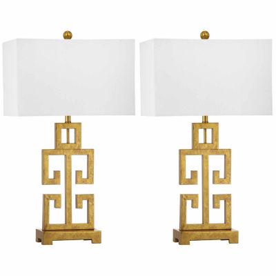 Safavieh Greek Key Table Lamp
