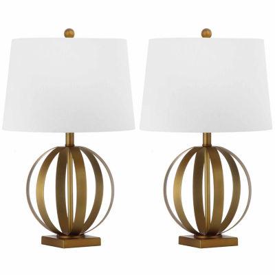 Safavieh Euginia 24.5-Inch H Sphere Table Lamp