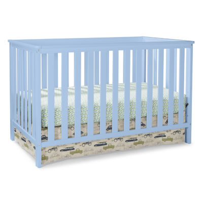 Storkcraft Roseland 3-in-1 Crib- Sky Blue