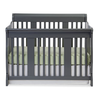Storkcraft Tuscany 4-in-1 Convertible Crib-Gray