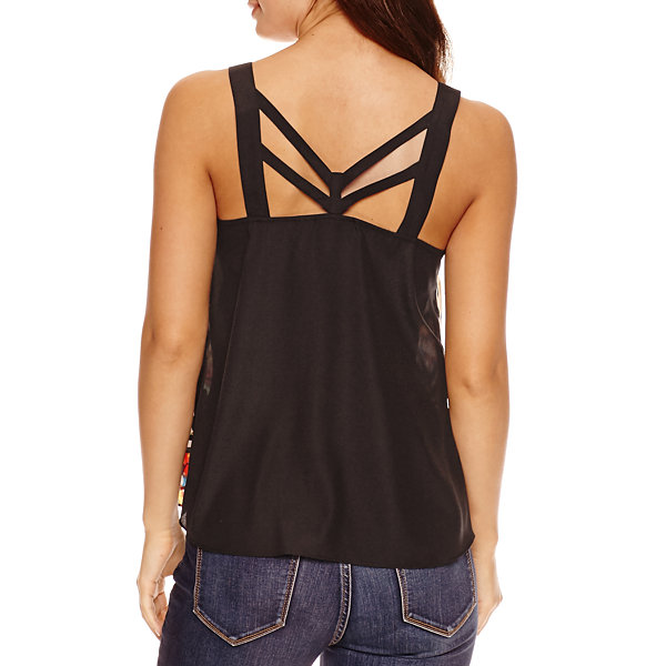 Bisou Bisou Cage Pleat Top