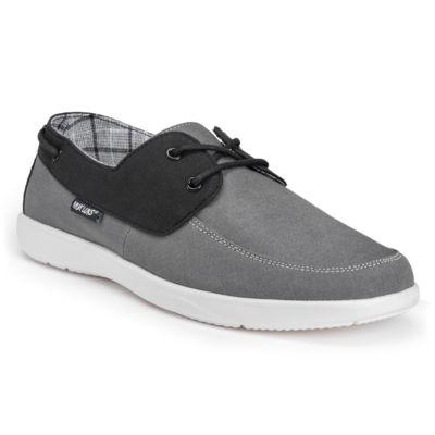 Muk Luks Mens Theo Boat Shoes Slip-on