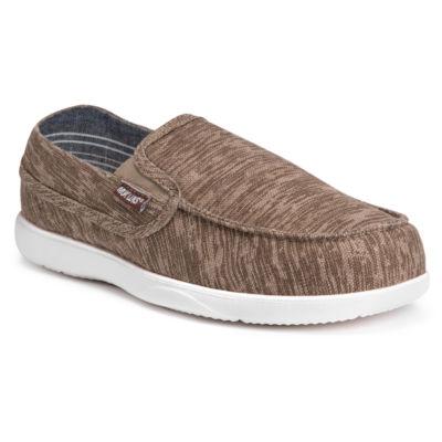 Muk Luks Mens Aris Slip-On Shoes Slip-on Round Toe