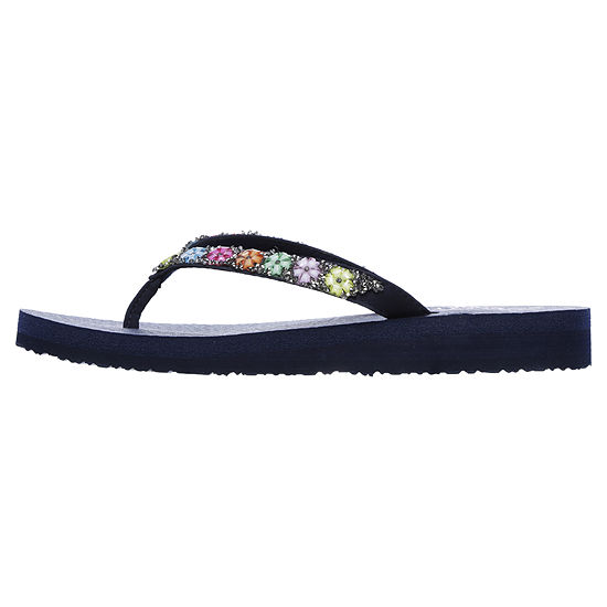 Skechers Womens Meditation - Daisy Delight Flip-Flops