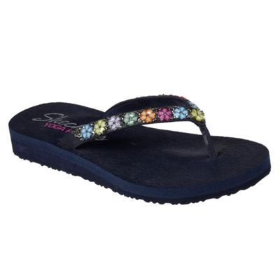 Skechers Meditation Womens Wedge Sandals