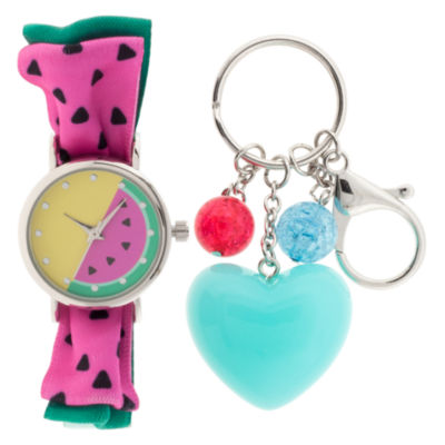 Girls Multicolor Strap Watch-Gengt039