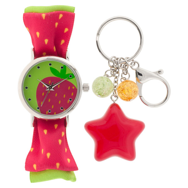 Girls Multicolor Strap Watch-Gengt040