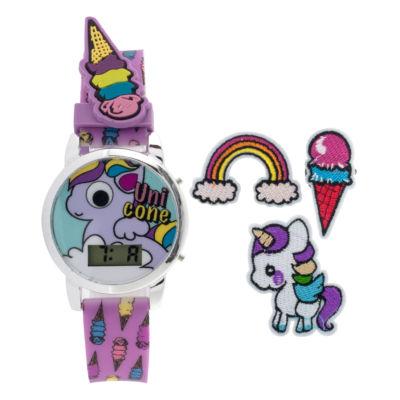 Girls Multicolor Strap Watch-Gengt044
