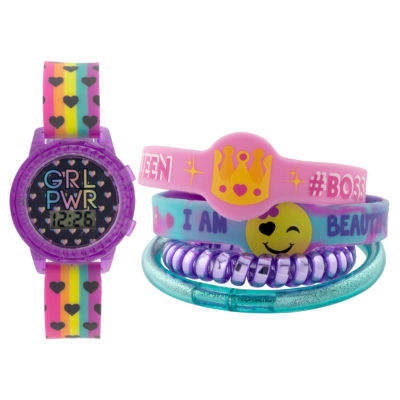 Girls Multicolor Strap Watch-Gengt046