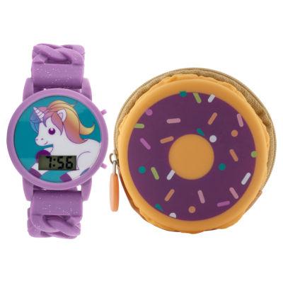 Girls Multicolor Strap Watch-Gengt035