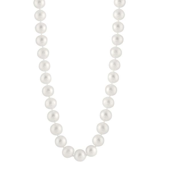 Fine Jewelry Splendid Pearls Womens Pearl 14K Gold Pendant Necklace j4qWFmQcr